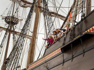 Schip ahoy! Foto: De Halve Maen.