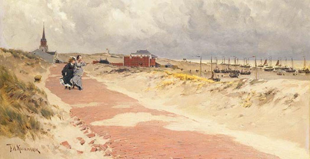 Beeld: F.H. Kaemmerer, Scheveningen; 1870-1874. Collectie Haags Historisch Museum