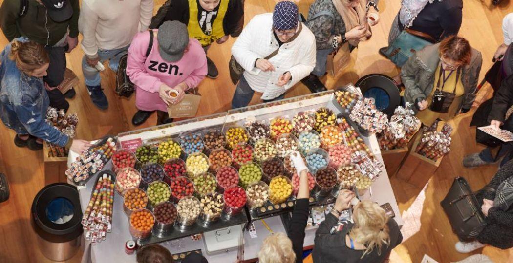 Dat ziet er lekker uit! Foto: Chocoa Festival