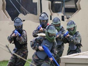Ga de strijd aan! Foto: Paintball Jungle