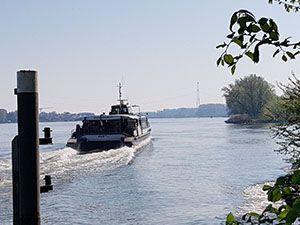 De waterbus in actie. Foto: DagjeWeg.NL