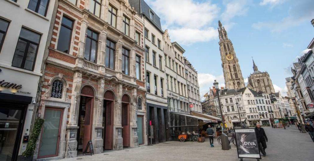 Het vernieuwde DIVA aan de Suikerrui in Antwerpen. Foto: DIVA