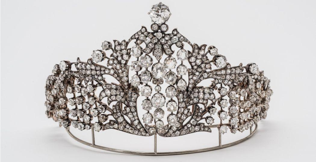 Deze tiara komt ook uit de collectie van het Hermitage in Sint-Petersburg. Foto: State Hermitage Museum, St Petersburg.