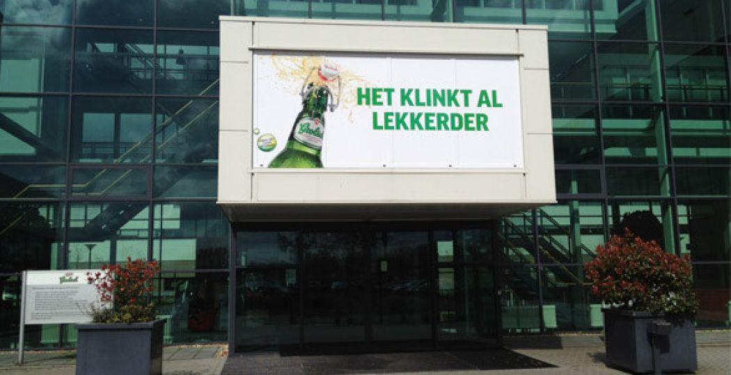 Stap binnen bij de brouwerij van Grolsch. Foto: Annette van den Berg.