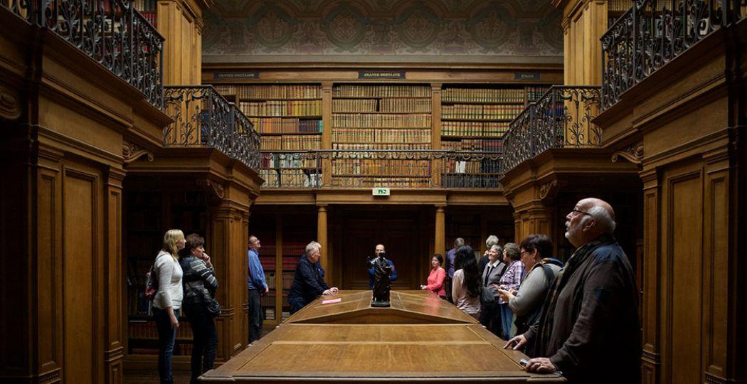Bekijk tijdens de Museumweek de parels van de musea, zoals de prachtige bibliotheek van Teylers Museum dat normaal gesloten is voor bezoekers. Foto: Ernst van Deursen