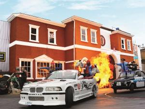Crazy Cops -The Action Stunt Show.Foto: Movie Park Germany