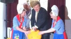 Koning heropent Hollands Kaasmuseum