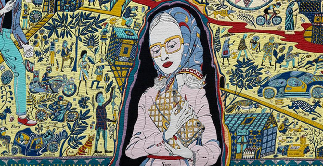Foto: Grayson Perry, The Walthamstow Tapestry, 2009. Courtesy Bonnefantenmuseum Maastricht.