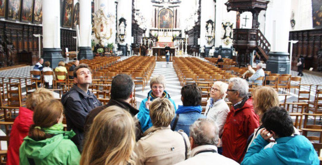 De Sint Jacobskerk is één van de hoogtepunten van een historische stadswandeling door Antwerpen. Foto: Jonathan Vink.