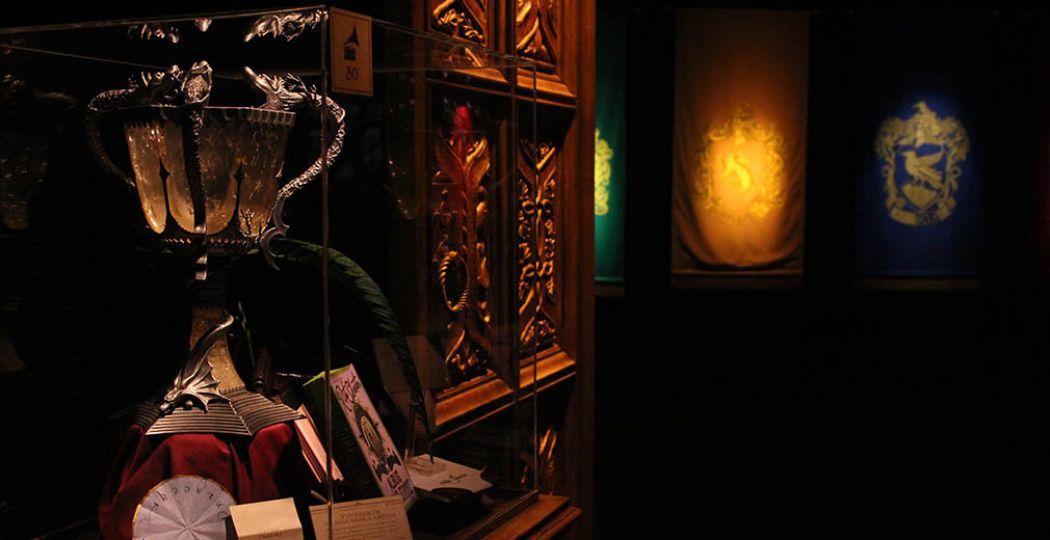 De Triwizard Tournament Cup! Harry Potter: The Exhibition zuigt je mee in de magische wereld van Harry Potter. Foto: Coby Boschma.