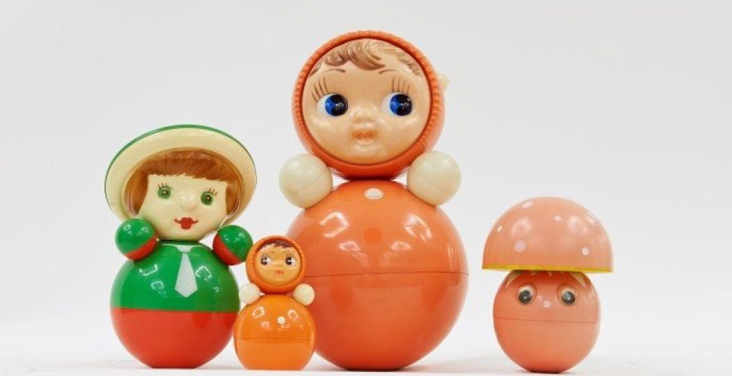 Nevalyashka, roly poly-muziekpoppen uit 1970. Beeld en copyright: Moscow Design Museum