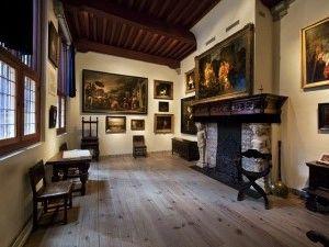 Woonkamer van Rembrandt. Foto: Rembrandthuis