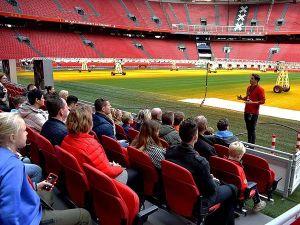 Stadiontour in Johan Cruijff ArenA