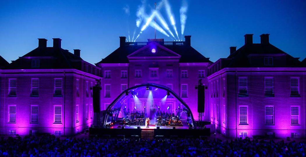 Elisabeth in Concert vond vorig jaar voor het eerst plaats. Toen was de locatie Paleis Het Loo. Foto: Roy Beusker.