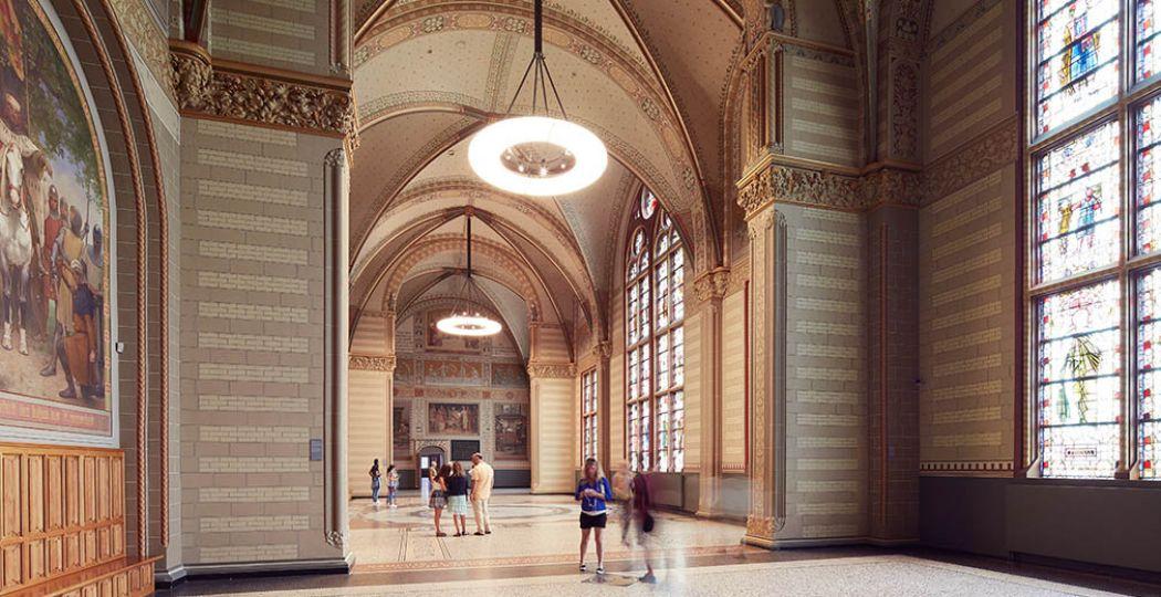 Een museum is hartstikke romantisch om samen heen te gaan. Bijvoorbeeld het  Rijksmuseum in Amsterdam . Foto: Erik Smits.