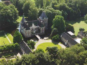 De bijzondere entree van het kasteel. Foto: Kasteel het Nijenhuis © Pedro Sluiter.