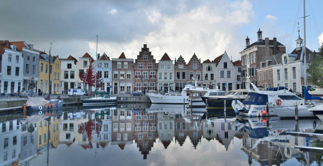 De binnenstad van Goes is een plaatje. Foto: DagjeWeg.NL, Eline Visscher.