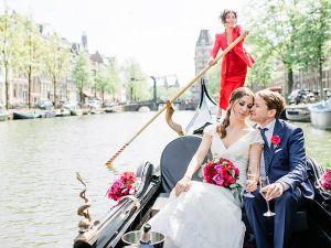 Foto: Gondelvaart Amsterdam © Alexandra Vonk.