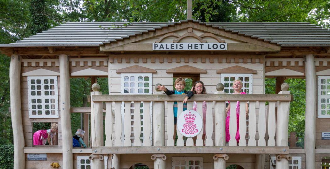 Ook dit jaar zijn er weer Prinsen- & Prinsessendagen in de stallen en tuinen van Paleis Het Loo. Foto: Paleis Het Loo.