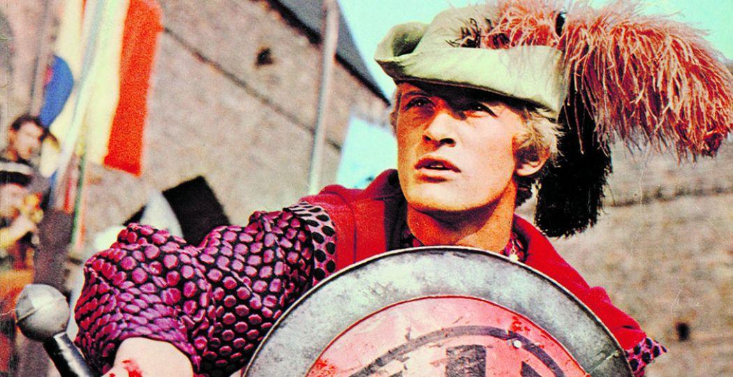 Rutger Hauer in zijn doorbraakrol als ridder Floris. Over deze serie is nu een tentoonstelling te zien in het Museum van de 20e Eeuw. Foto: Museum van de 20e Eeuw