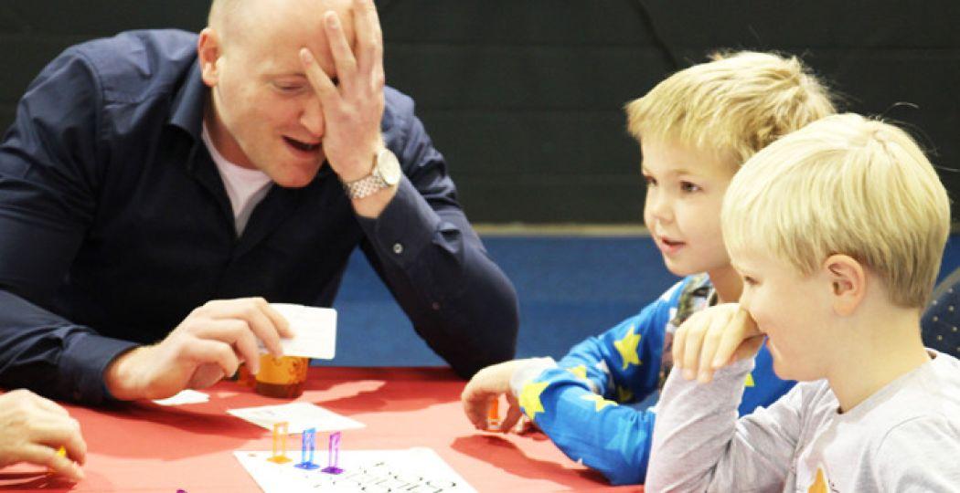 Speel samen spelletjes bij Spellenspektakel Eindhoven. Foto: Frank Bunnik.
