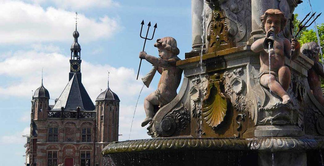 Deventer is een van de oudste steden van Nederland. De stad bestaat inmiddels 1250 jaar. Foto: VVV Deventer.