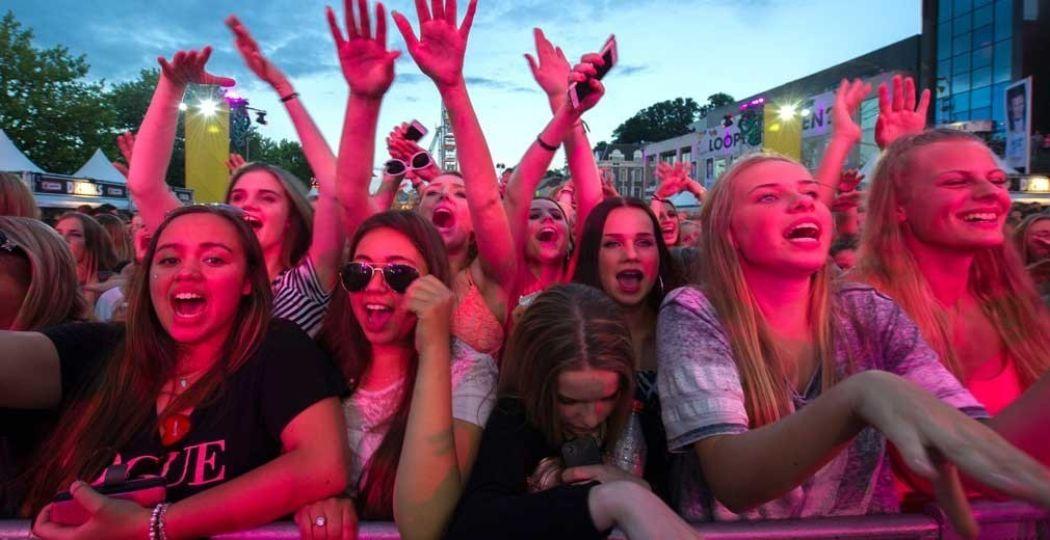 Tijdens de Vierdaagsefeesten zijn er optredens en feestjes in overvloed. Foto: Stichting Vierdaagsefeesten.