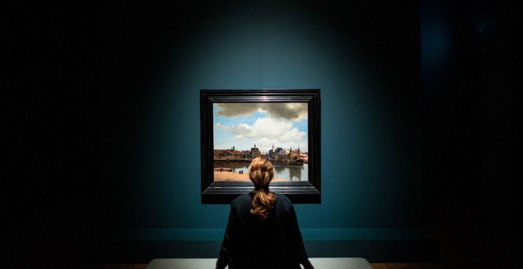Tentoonstelling Alleen met Vermeer. Foto: Mauritshuis Den Haag
