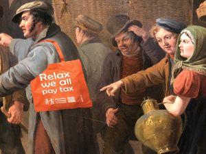 Word een echte douanier! Foto: Belasting & Douane Museum