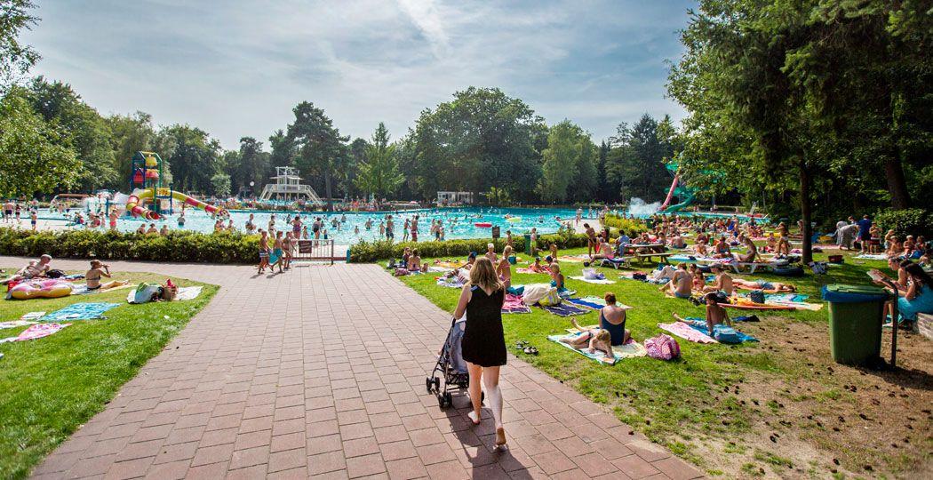 Zin in een frisse duik? Ga naar één van Nederlands mooiste openluchtzwembaden! Foto: Openluchtbad Boschbad © Rob Voss.