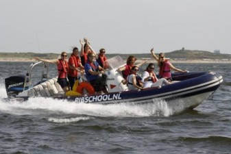 RIB varen (Powerboat) in Scheveningen