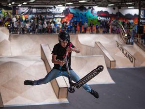 Oefen toffe stunts in het skatepark. Foto: Skateland Rotterdam.
