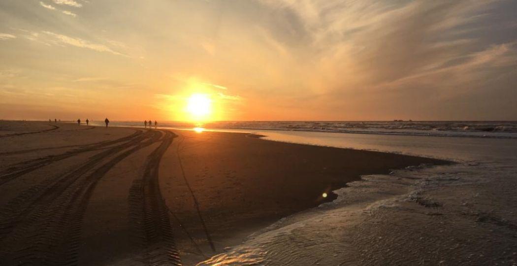 Het strand van Ameland. Foto: Catharina de Groot
