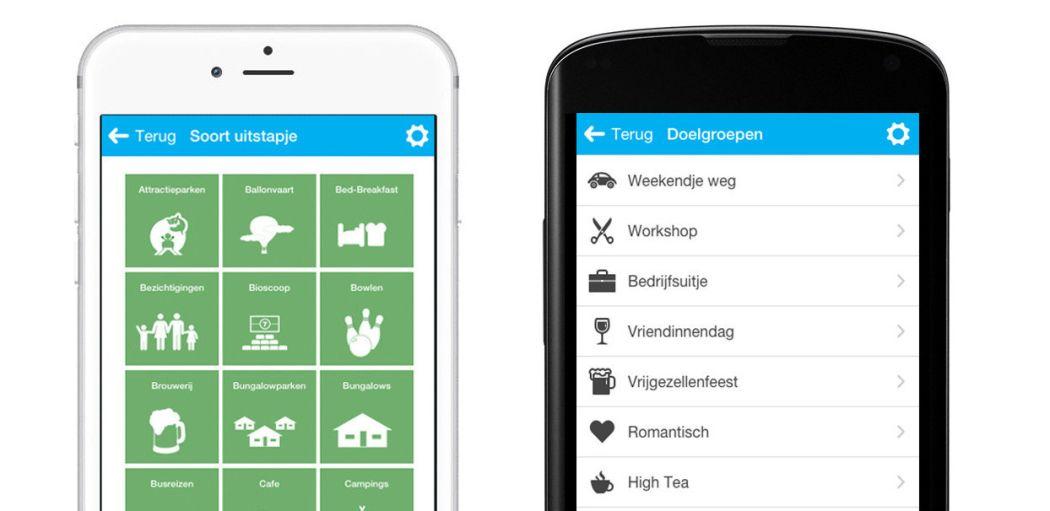Ontdek de leukste uitjes in de buurt via de DagjeWeg.NL App voor Apple en Android.