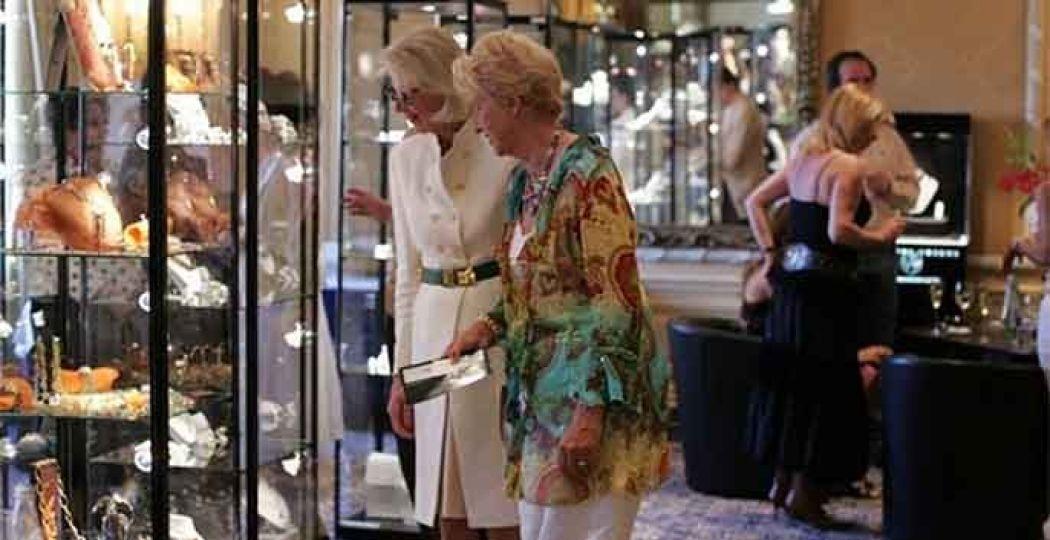 Glitter en glamour tijdens de juwelenexpositie Het Juweel. Foto: Interevent