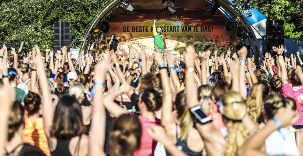 Samen sporten, lekker (en gezond) eten en shoppen tijdens Healthy Fest Weekend 2020. Foto: Healthy Fest Weekend © Wouter Roosenboom.