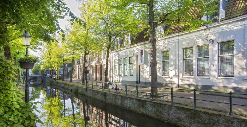 Aanrader: ontdek alles over Mondriaan in het Mondriaanhuis in het mooie Amersfoort. Foto: Mondriaanhuis © Wil Groenhuijsen.