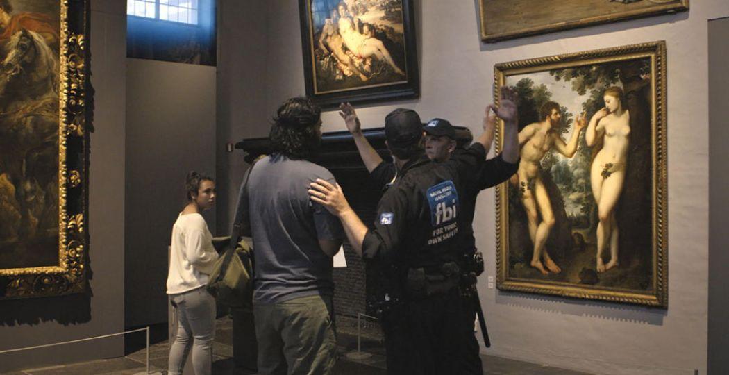 Vlaamse musea en culturele instanties hopen dat hun ludieke actie en open brief een einde aan de kunstcensuur op Facebook maakt. Foto:  Flemish Masters .