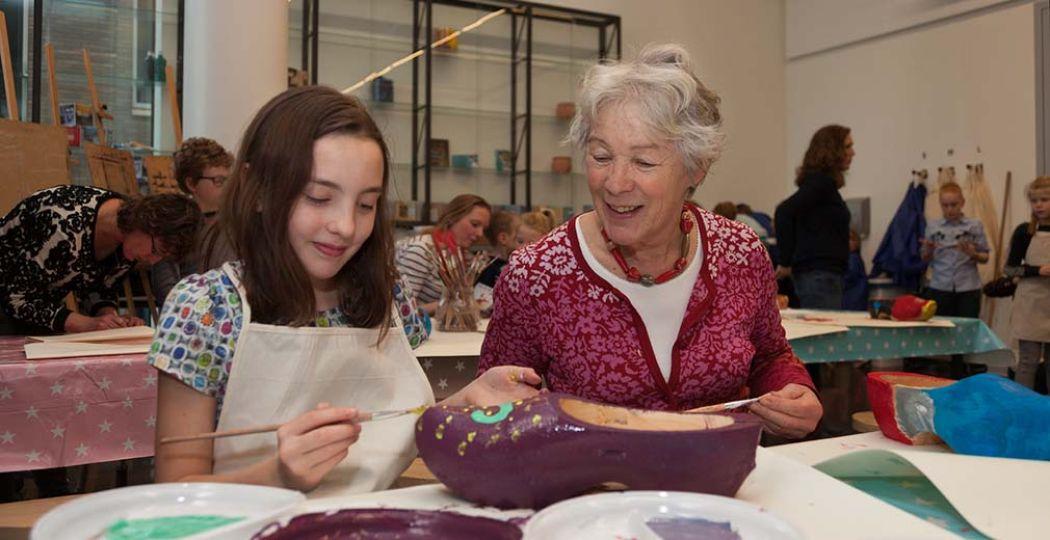 Bijna 40 musea doen mee en allemaal organiseren ze leuke activiteiten met als thema 'Typisch Friesland'. Leuk voor grootouders, ouders en kinderen! Foto: Museumfederatie Fryslân.