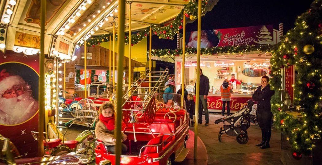 Valkenburg is een betoverend kerstsprookje deze dagen. Foto: Kerststad Valkenburg.