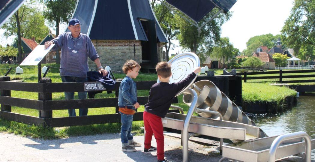 Spelen en leren over het leven van vroeger in het Zuiderzeemuseum Enkhuizen. Foto: DagjeWeg.NL.