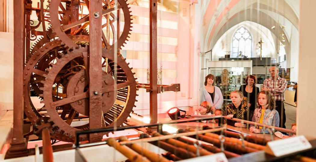 Bewonder gigantische en vrolijke instrumenten die zichzelf bespelen in Utrecht! Foto: Museum Speelklok.