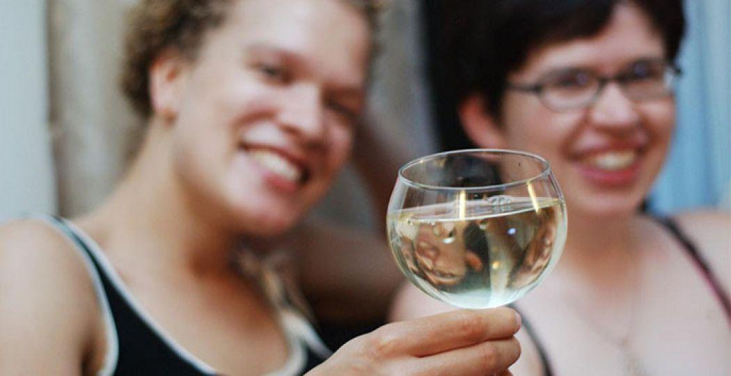 Een high wine heb je in alle soorten en maten, leuk als feestelijk uitstapje voor je vriendinnen, zussen of juist samen met je geliefde... Foto:  Steve Pomeroy, Flickr