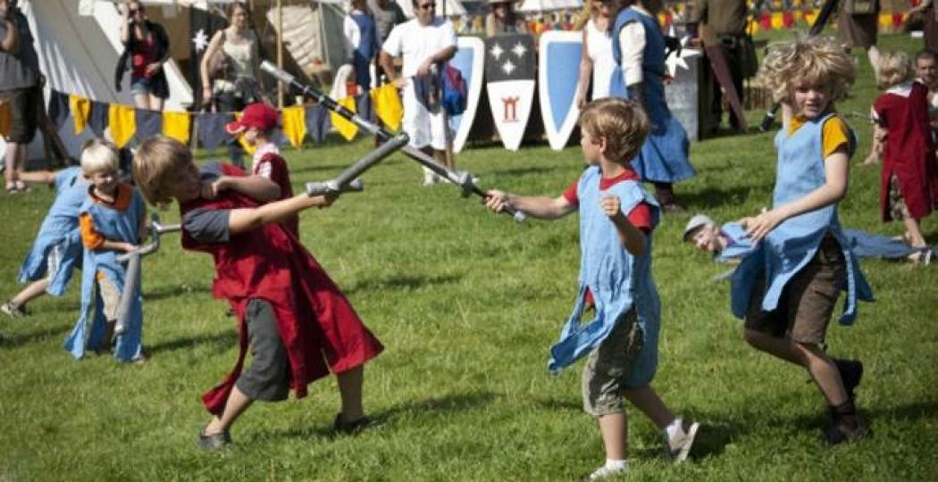 Wie zegt dat de Middeleeuwen saai zijn? Foto: Middeleeuws Spektakel