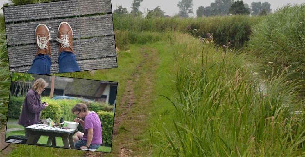 De Wieden is een heerlijke groene plek, en roept erom om onderzocht te worden. Laarzen aan en gaan! Foto: DagjeWeg.NL.