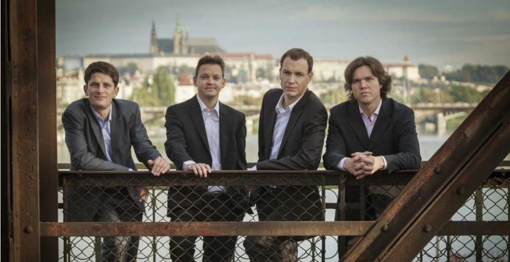 Het Bennewitz Quartet. Foto: Kamil Ghais