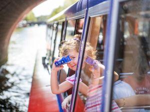 Bewonder Amsterdam vanaf de grachten. Foto: Blue Boat Company