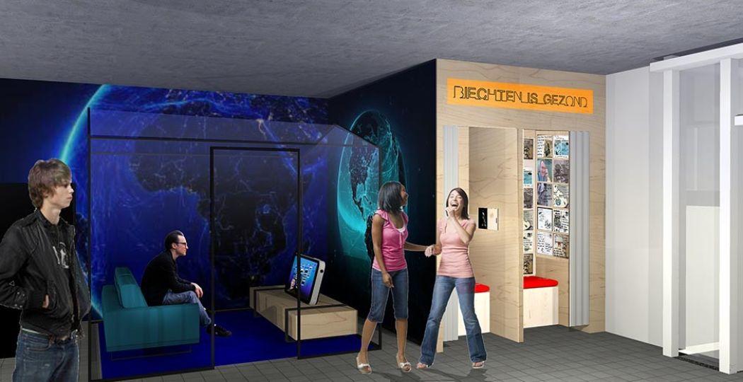 Impressie van het nieuwe museum. Foto: COMM.
