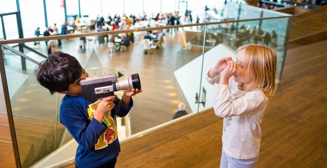 Films komen tot leven in het EYE Filmmuseum. Foto: EYE Filmmuseum.