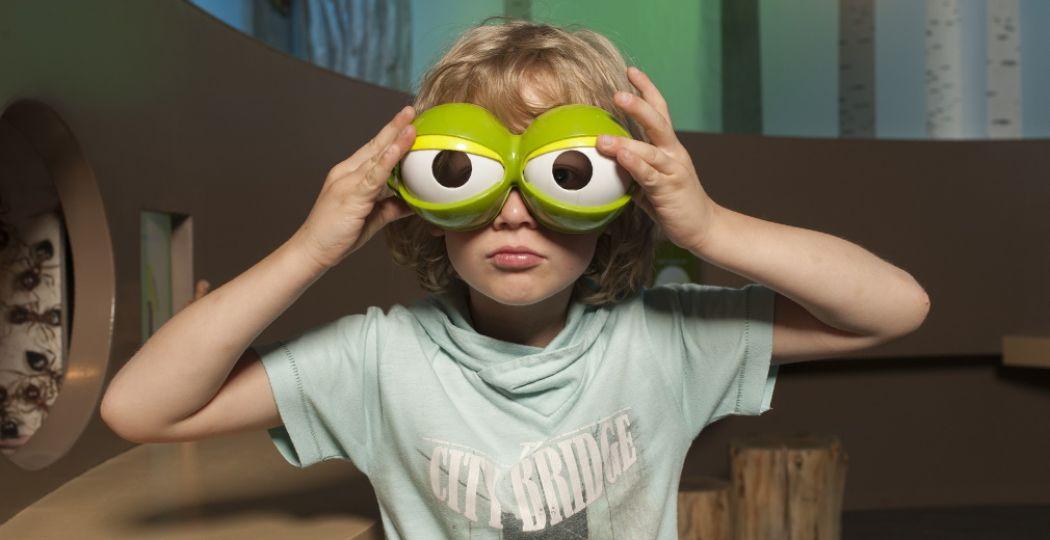 Bekijk Tilburg eens door een kinderbril. Foto: Maria van der Heyden.